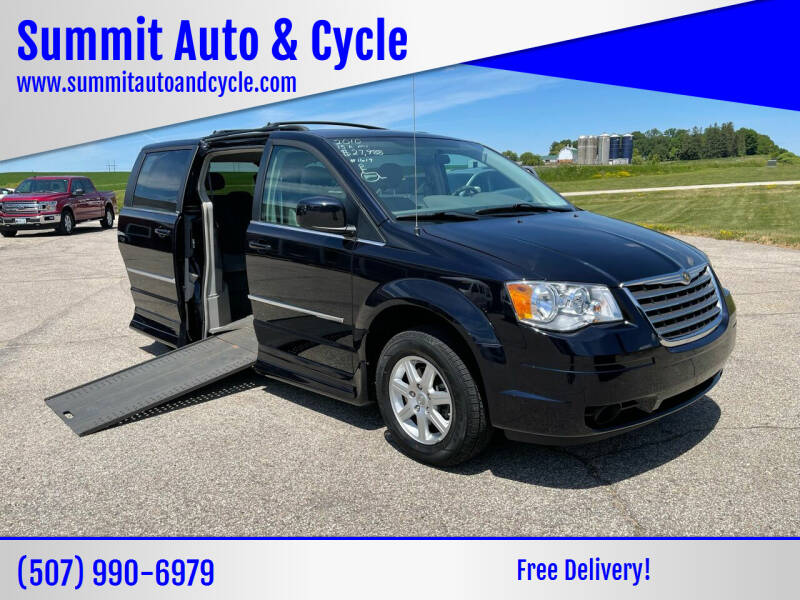 2010 Chrysler Town and Country for sale at Summit Auto & Cycle in Zumbrota MN