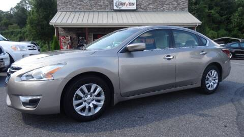 2014 Nissan Altima for sale at Driven Pre-Owned in Lenoir NC