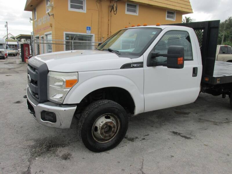 2012 Ford F-350 Super Duty for sale at TROPICAL MOTOR CARS INC in Miami FL