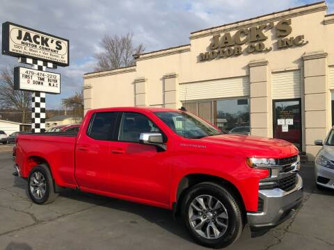 2020 Chevrolet Silverado 1500 for sale at JACK'S MOTOR COMPANY in Van Buren AR