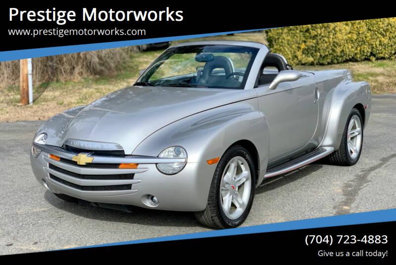 2005 Chevrolet SSR for sale at Prestige Motorworks in Concord NC
