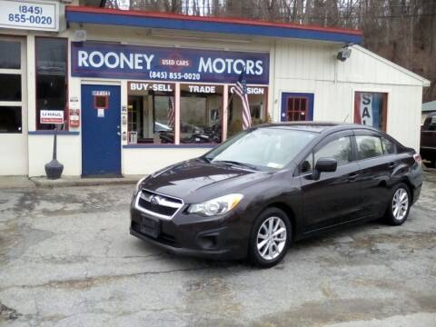 2013 Subaru Impreza for sale at Rooney Motors in Pawling NY
