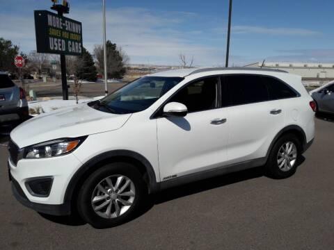 2017 Kia Sorento for sale at More-Skinny Used Cars in Pueblo CO