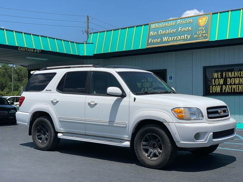 2003 Toyota Sequoia for sale at my USA motors - (Bad Credit? MYBUYHEREPAYHERE.com) in Brooksville FL