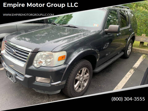 2010 Ford Explorer for sale at Empire Motor Group LLC in Plaistow NH