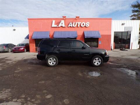 2007 GMC Yukon for sale at L A AUTOS in Omaha NE