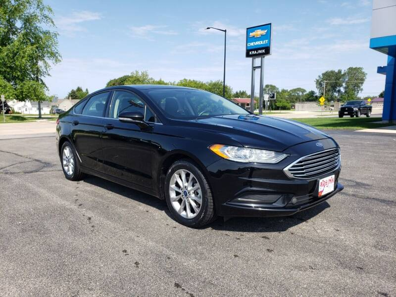 2017 Ford Fusion for sale at Krajnik Chevrolet inc in Two Rivers WI