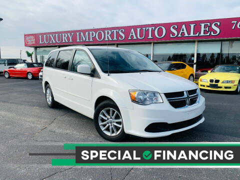 2013 Dodge Grand Caravan for sale at LUXURY IMPORTS AUTO SALES INC in North Branch MN