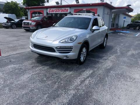 2013 Porsche Cayenne for sale at CARSTRADA in Hollywood FL