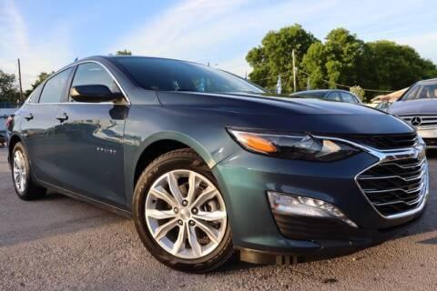 2021 Chevrolet Malibu for sale at OCEAN AUTO SALES in Miami FL