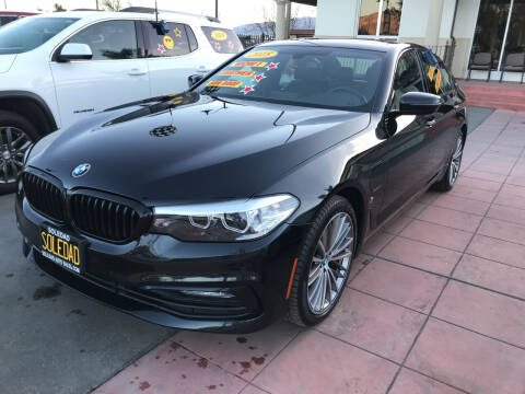 2018 BMW 5 Series for sale at Soledad Auto Sales in Soledad CA