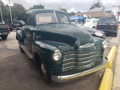 1950 Chevrolet 3600 pick up for sale at D & D All American Auto Sales in Mount Clemens MI