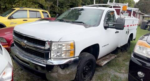 2009 Chevrolet Silverado 2500HD for sale at North Knox Auto LLC in Knoxville TN