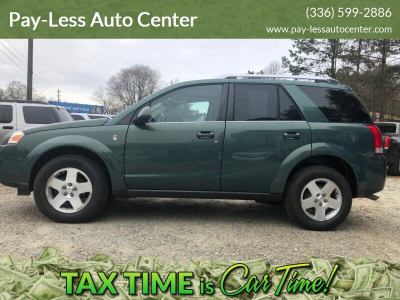 2006 Saturn Vue for sale at Pay-Less Auto Center-Burlington Road in Roxboro NC