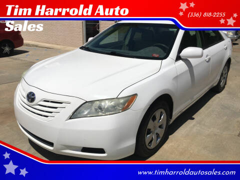 2007 Toyota Camry for sale at Tim Harrold Auto Sales in Wilkesboro NC