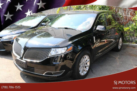 2016 Lincoln MKT Town Car for sale at Shah Jee Motors in Woodside NY