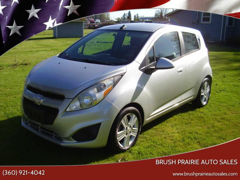 2014 Chevrolet Spark for sale at Brush Prairie Auto Sales in Battle Ground WA