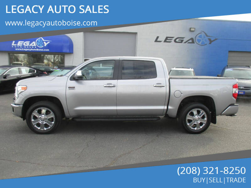 2015 Toyota Tundra for sale at LEGACY AUTO SALES in Boise ID