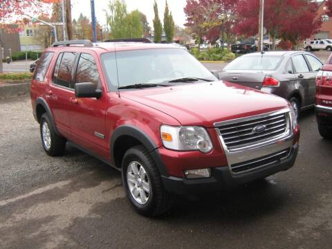 2007 Ford Explorer for sale at D & M Auto Sales in Corvallis OR