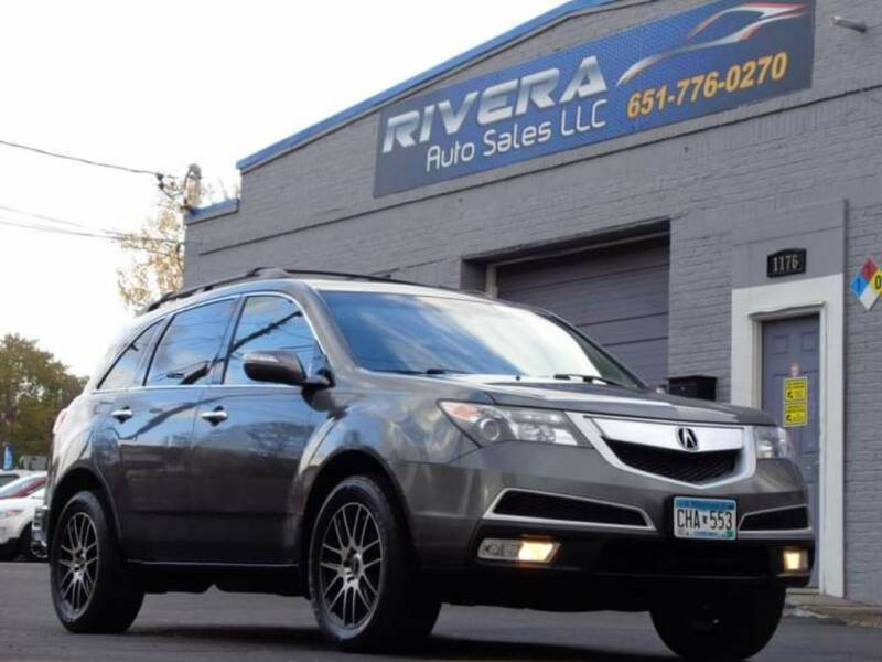2010 Acura MDX for sale at Rivera Auto Sales LLC in Saint Paul MN