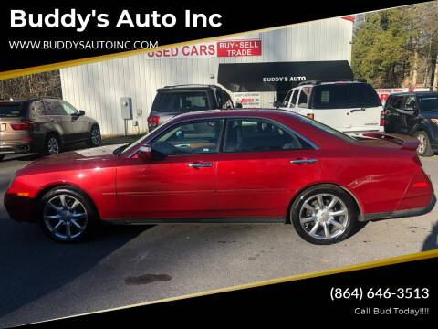2003 Infiniti M45 for sale at Buddy's Auto Inc in Pendleton SC