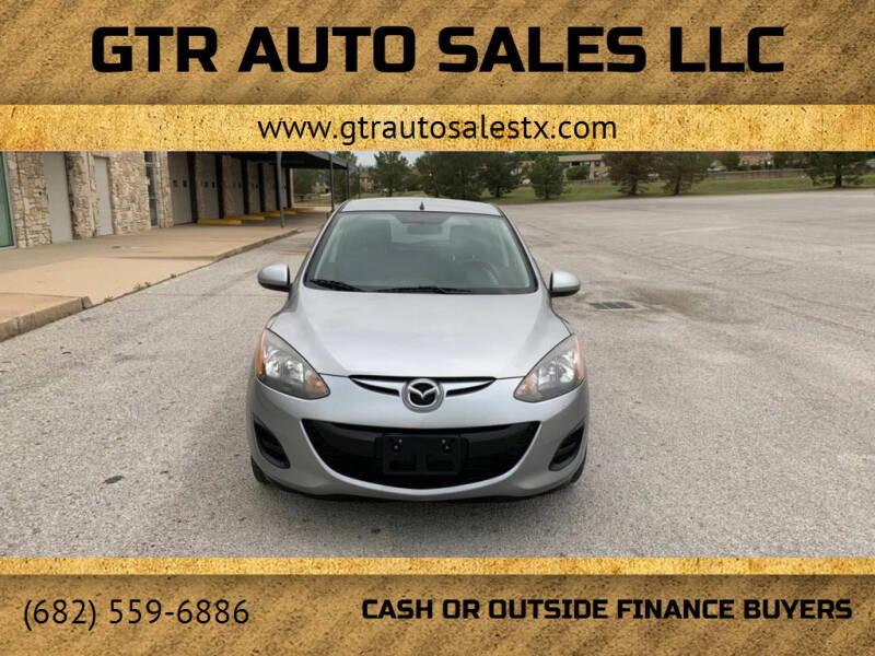 2011 Mazda MAZDA2 for sale at GTR Auto Sales LLC in Haltom City TX