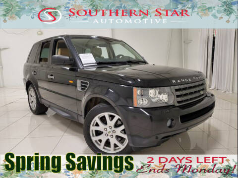 2008 Land Rover Range Rover Sport for sale at Southern Star Automotive, Inc. in Duluth GA