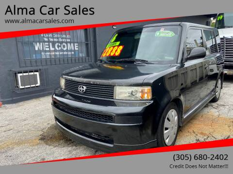 2006 Scion xB for sale at Alma Car Sales in Miami FL