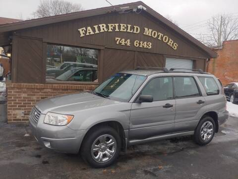 2007 Subaru Forester for sale at Fairfield Motors in Fort Wayne IN