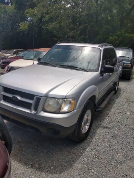 2001 Ford Explorer Sport Trac for sale at Delgato Auto in Pittsboro NC
