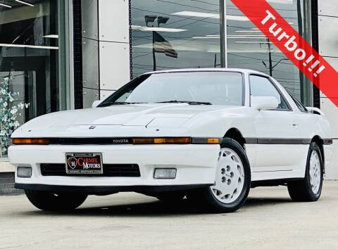 1988 Toyota Supra for sale at Carmel Motors in Indianapolis IN