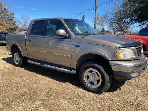 2001 Ford F-150 for sale at M & M Motors in Angleton TX