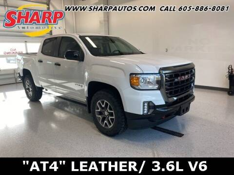 2021 GMC Canyon for sale at Sharp Automotive in Watertown SD