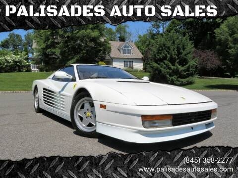 1988 Ferrari Testarossa for sale at PALISADES AUTO SALES in Nyack NY