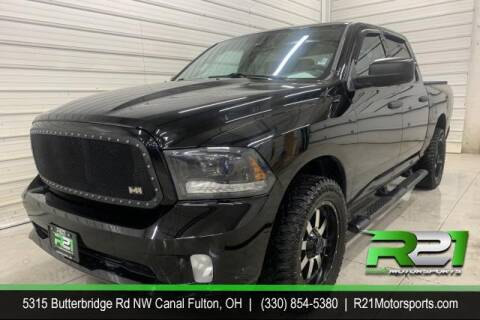 2015 RAM Ram Pickup 1500 for sale at Route 21 Auto Sales in Canal Fulton OH