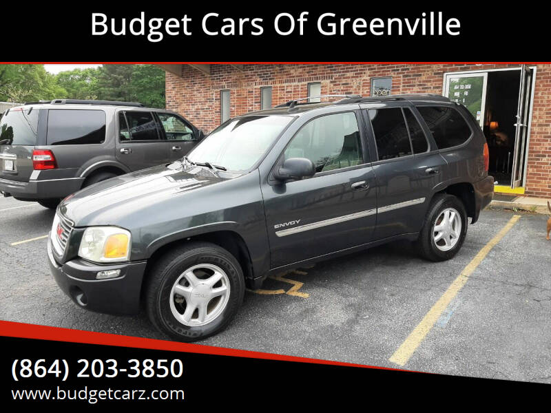 2006 GMC Envoy for sale at Budget Cars Of Greenville in Greenville SC