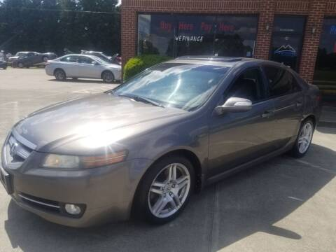 2008 Acura TL for sale at Pinnacle Acceptance Corp. in Franklinton NC
