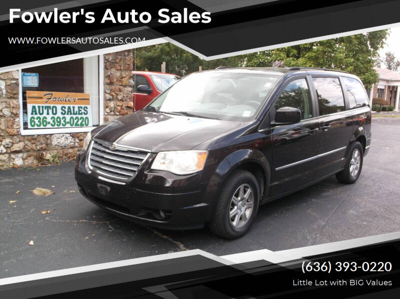 2010 Chrysler Town and Country for sale at Fowler's Auto Sales in Pacific MO