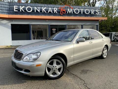 2004 Mercedes-Benz S-Class for sale at Ekonkar Motors in Scotch Plains NJ