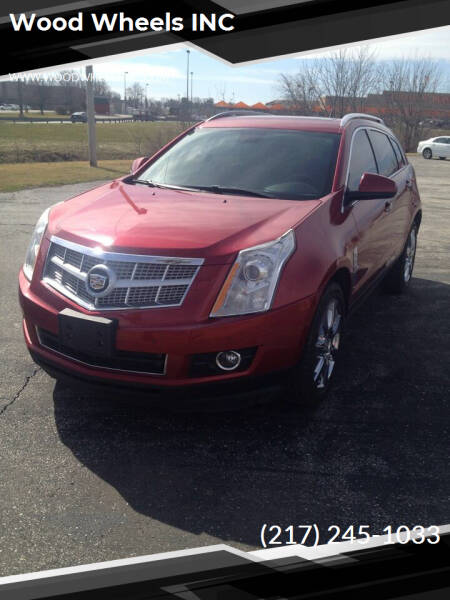 2012 Cadillac SRX for sale at Wood Wheels INC in Jacksonville IL