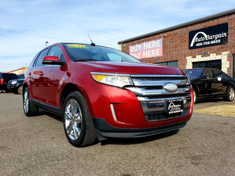 2014 Ford Edge for sale at AUTO BARGAIN, INC. #2 in Oklahoma City OK