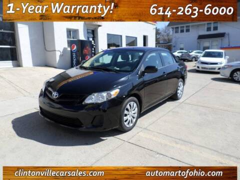 2013 Toyota Corolla for sale at Clintonville Car Sales in Columbus OH