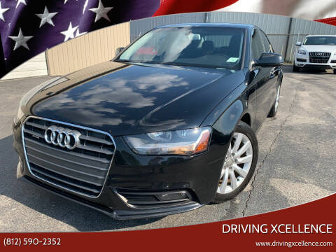 2014 Audi A4 for sale at Driving Xcellence in Jeffersonville IN