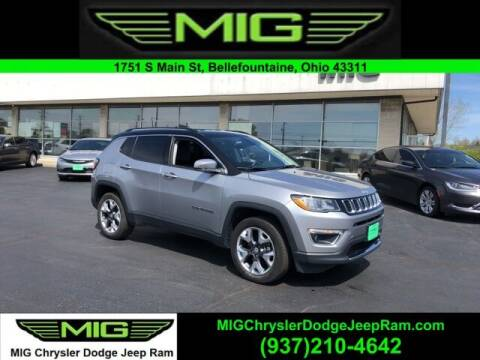 2018 Jeep Compass for sale at MIG Chrysler Dodge Jeep Ram in Bellefontaine OH