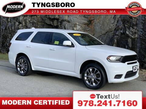 2019 Dodge Durango for sale at Modern Auto Sales in Tyngsboro MA
