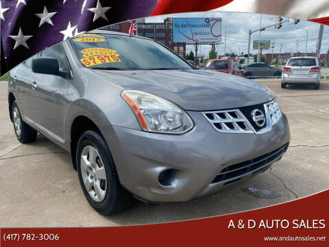 2012 Nissan Rogue for sale at A & D Auto Sales in Joplin MO
