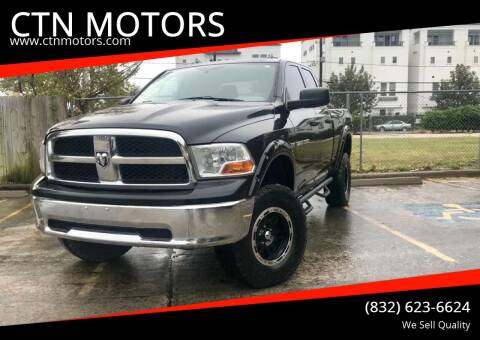 2011 RAM Ram Pickup 1500 for sale at CTN MOTORS in Houston TX
