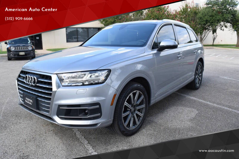 2017 Audi Q7 for sale at American Auto Center in Austin TX