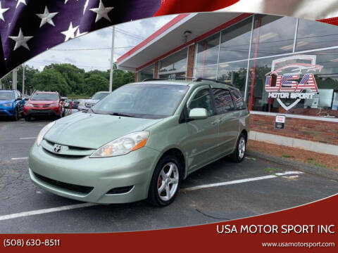 2008 Toyota Sienna for sale at USA Motor Sport inc in Marlborough MA