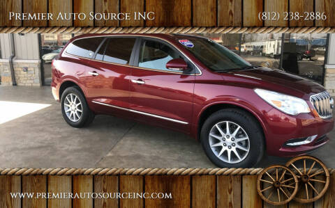 2017 Buick Enclave for sale at Premier Auto Source INC in Terre Haute IN